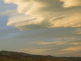 Lenticular Clouds at Sunset over the Colorado Front Range Prior to a High Wind Event Photographic Print by Jon Van de Grift