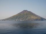 Stromboli Island with Stromboli Volcano, Eolian Islands, Italy, 2006 Photographic Print by Richard Roscoe