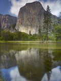 The 3000 Foot High El Capitan Is the Largest Granite Monolith of Granite in the World Photographic Print by Patrick Smith