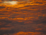 Colorful Cloudy Sky at Sunrise or Sunset Photographic Print by Gustav Verderber
