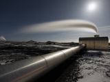 Reykjanesvirkjun Power Plant, Iceland Photographic Print by Skarphedinn Thrainsson