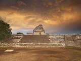 El Caracol Observatory in the Older Mayan Section of Chichen Itzin Yucatan Mexico Photographic Print by Patrick Smith