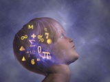 Dreams of Mathematics Photographic Print by Carol & Mike Werner