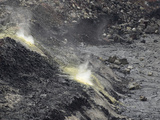 Sulfur Dioxide, a Toxic Gas, Erupts from a Volcano in Hawaii Photographic Print by Jon Van de Grift