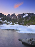 Lila Lake in the Alpine Lakes Wilderness of the Cascade Range Photographic Print by Geoffrey Schmid