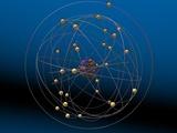 Copper Atom Model Fotografisk tryk af Carol & Mike Werner