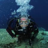 Scuba Diver, Mediterranean Sea Photographic Print by Solvin Zankl