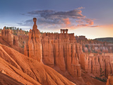 Sunrise over Thor's Hammer, Bryce Canyon National Park, Utah, USA Photographic Print by Geoffrey Schmid