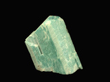 Microcline Variety Amazonite, Lake George, Colorado, USA, Specimen Courtesy JMU Mineral Museum Photographic Print by  Scientifica