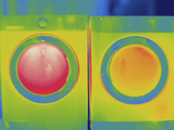 Thermogram - Washer and Dryer in Use Photographic Print by  Scientifica