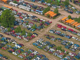 Junk Yard, Michigan, USA Photographic Print by Jeffrey Wickett