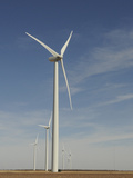 Wind Turbines Photographic Print by Tom Ulrich