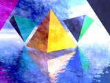 Triangles Photographic Print by Carol & Mike Werner