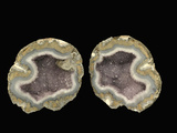 Amethyst Geode Opened, Mexico, Specimen Courtesy JMU Mineral Museum Photographic Print by  Scientifica