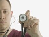 Male Nurse Photographic Print by Scientifica