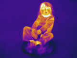 Thermogram - Child at Play Photographic Print by  Scientifica