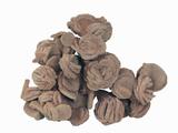 "Barite ""Roses,"" Oklahoma, USA, Specimen Courtesy Jmu Mineral Museum Photographic Print by  Scientifica"