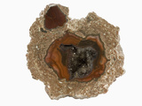 Thunderegg Geode with Quartz and Agate, New Mexico, USA Photographic Print by  Scientifica