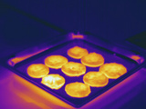 Thermogram - Hot Cookies Just Out of the Oven Photographic Print by  Scientifica