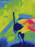 Thermogram - Washing Hands with Cold Water Photographic Print by  Scientifica