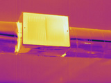 Thermogram - Heating Ducts Photographic Print by  Scientifica