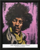 Purple Haze, Jimi Hendrix, Rhythm and Hue Poster by David Garibaldi