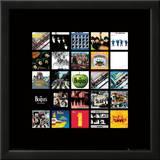 The Beatles: Album Colletion Prints