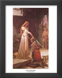 The Accolade Art by Edmund Blair Leighton