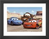 The Cast of Cars Print