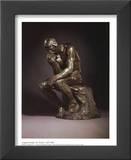 The Thinker Art by Auguste Rodin