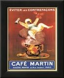 Cappiello (Cafe Martin) Art Print Poster Prints