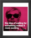 Waiting Prints by Andy Warhol