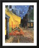 Terrasse de Cafe la Nuit night POSTER Vincent Van Gogh Art