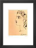 Profil de Femme Poster by Pablo Picasso