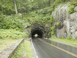 Mary's Rock Tunnel (Left), Skyline Drive, Virginia Photographic Print by  Scientifica