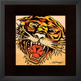 Tiger Posters by Ed Hardy