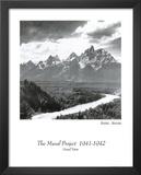 Grand Teton national park Ansel Adams Prints