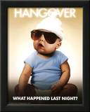 The Hangover Movie What Happened Last Night Baby Poster Print Prints