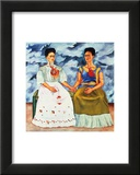 The Two Fridas, c.1939 Prints by Frida Kahlo