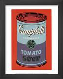 Campbell&#39;s Soup Can, 1965 (Blue and Purple) Prints by Andy Warhol