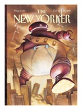 The New Yorker Cover - October 18, 1999 Regular Giclee Print by Carter Goodrich