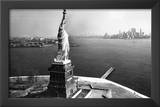 Statue of Liberty New York City Skyilne Archival Photo Poster Print Print