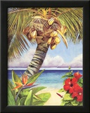 Penny Gupton (Tropical Horizons) Art Print Poster Posters