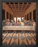 Black Last Supper Prints