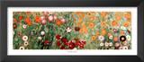 Flowery Garden Detail Prints by Gustav Klimt