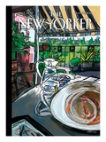 The New Yorker Cover - July 30, 2012 Premium Giclee Print by Javier Mariscal