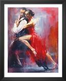 Tango Nuevo I Print by Pedro Alverez