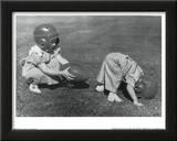Young Players (Hut Hut) Art Poster Print Prints