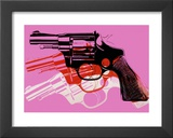 Gun, c.1981-82 Poster by Andy Warhol