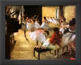 Ballet Rehearsal Posters by Edgar Degas